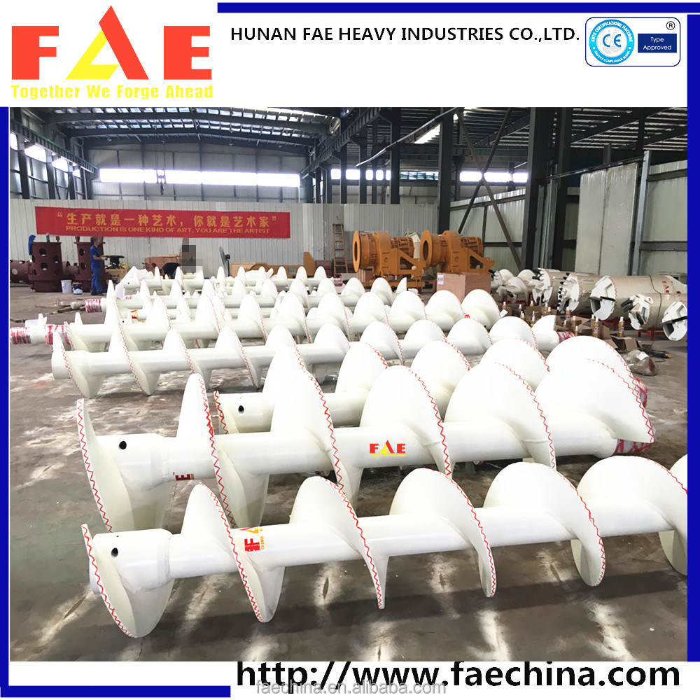 FAECHINA-construction machinery asphalt paver auger blade- CFA auger series
