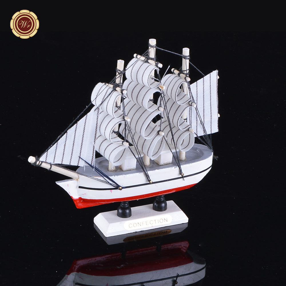 wr veleros modelo de juguete barco de madera regalo de la promocin hecha a mano de