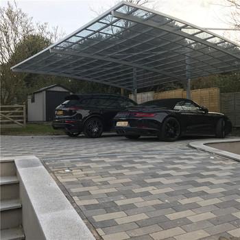 Nouvelle Conception Solaire Carport Avec Cadre En Aluminium/moderne Abri Kit