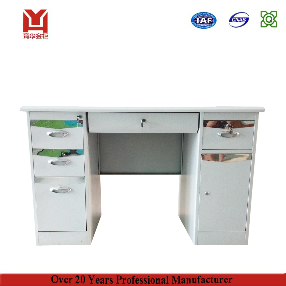 Simple Office / Home Metal Desk Top Computer Table Models Design With  Prices Luxury Office Table