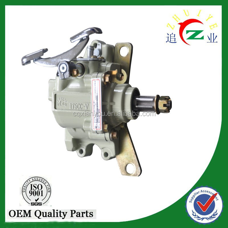 chinese tricycle 175cc gear box for three wheeler with right angle 90 degree