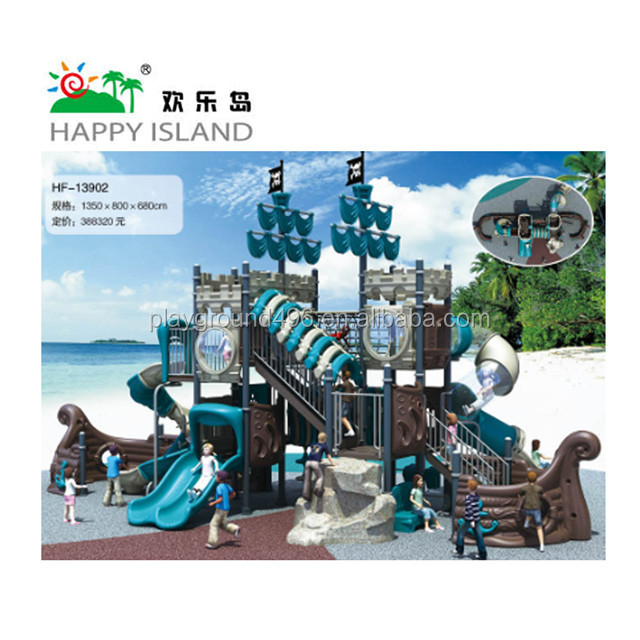 Wonderful!!! Pirate ship outdoor kids playground