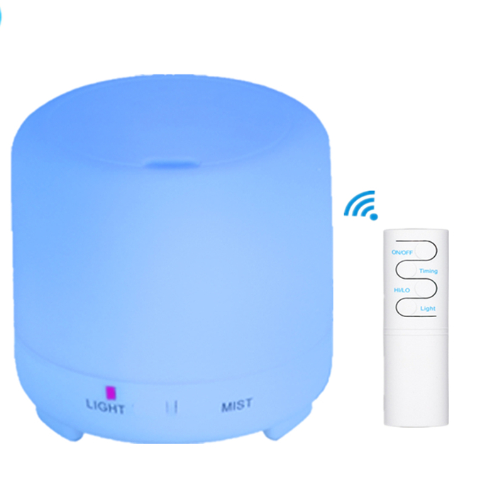 220ML Remote Control Ultrasonic Air Humidifier With LED Light USB mini Aromatherapy Essential Oil Diffuser
