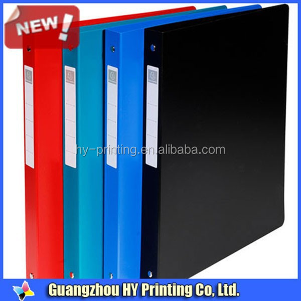 Factory wholesale 3 hole binder a4