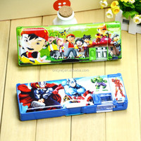 Promotional Cheap School Office Cartoon Stationary Creative Gift Pen pencil Box Set For Children Students kids
