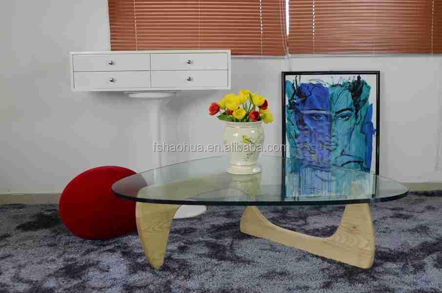 Giapponese mobili di design in vetro temperamento top triangolo ...