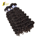 Can be dyed& bleached deep wave 100% virgin brazilian hair new hair fashion trend