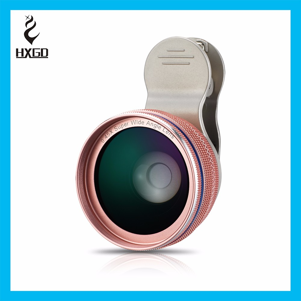 HXGD New 4 in 1 10x telescope lens fisheye wide angle and marco lens suit for smartphone