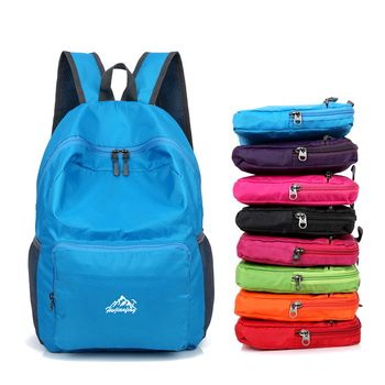 5425177dc237 20L Cheap cute lightweight packable waterproof and hiking daypack  travelling folding backpack for girls