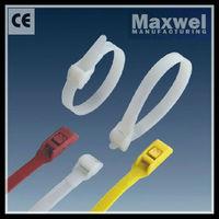 Double Lock Plastic Zip Tie