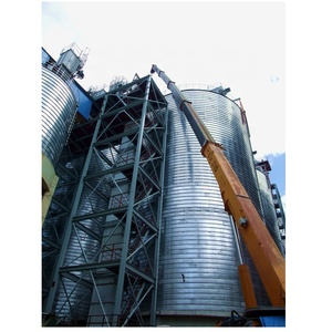 Bolted steel small grain silo for sale