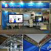 portable and modular trade show booth design with media player HD from Shanghai China