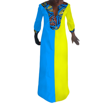 2018 New style High Quality ODM OEM African Womens Kaftan Top WY018