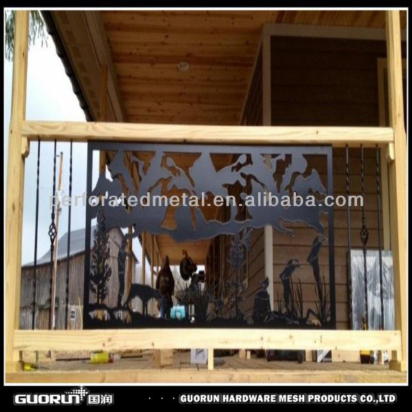 Métal de découpe laser clôture art / décoratif métal garde - corps ...