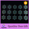 Rhinestone Patterns Small Flower Motif Wholesale Rhinestone Transfer