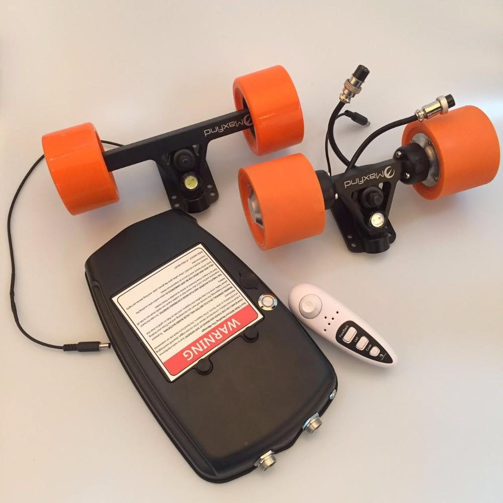 Skate El\u00e9trico DIY Pe\u00e7as do Kit de Montagem Do Motor Para Skate LaranjaSkatesID do produto