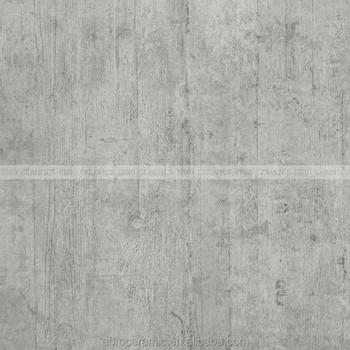 Dark Gray Hot Design Wood Combine Concrete Flooring Tile Rustic Porcelain
