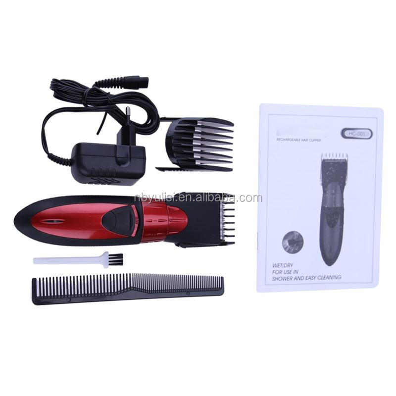 Plastic safety professional washable nose trimmer men rechargeable hair clipper made in China