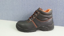 NMSAFETY new design SB standard steel toe cap buffalo leather safety shoes for men