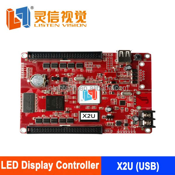 Full color p10 led display driver listen product new generation for led sign