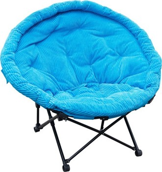 Padded Folding Outdoor Camping Festival Garden Moon Chair - Buy ...