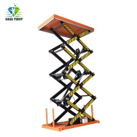 2m Lifting Height Hydraulic Scissor Lift Table