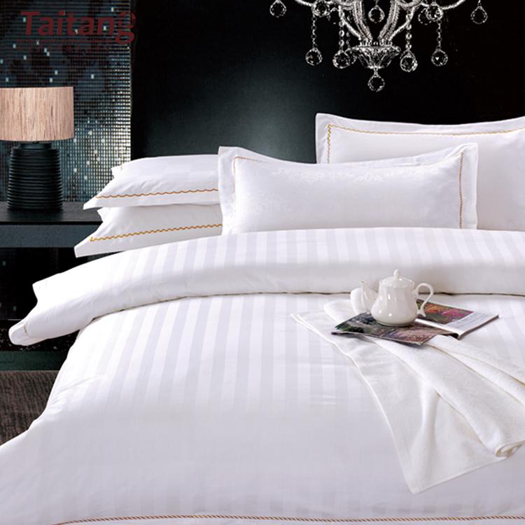 유효한 어떤 크기 100% 코튼 럭셔리 호텔 홈 섬유 화이트 침구 호텔 침구 세트 침대 시트