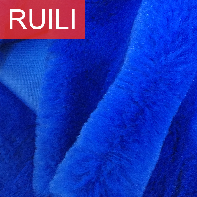 fake rabbit fur super soft plush fabric for toys and garments