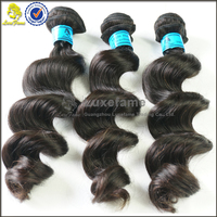 Brazilian hair bundles aliexpress cheap natural black color 7A grade no smell or lice dyed any color hair