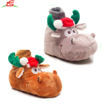ffd69e22f42a Baby Slippers For Christmas Reindeer Baby Shoes - Buy Baby Reindeer ...