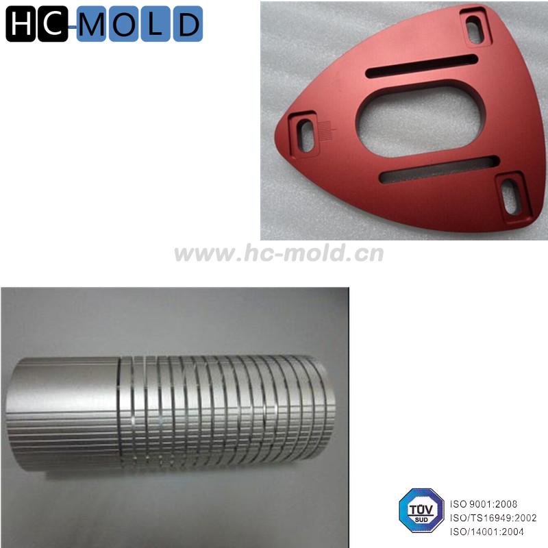 Red Color Anodizing Aluminium Car Parts/ 7075 Aluminum Machining ...