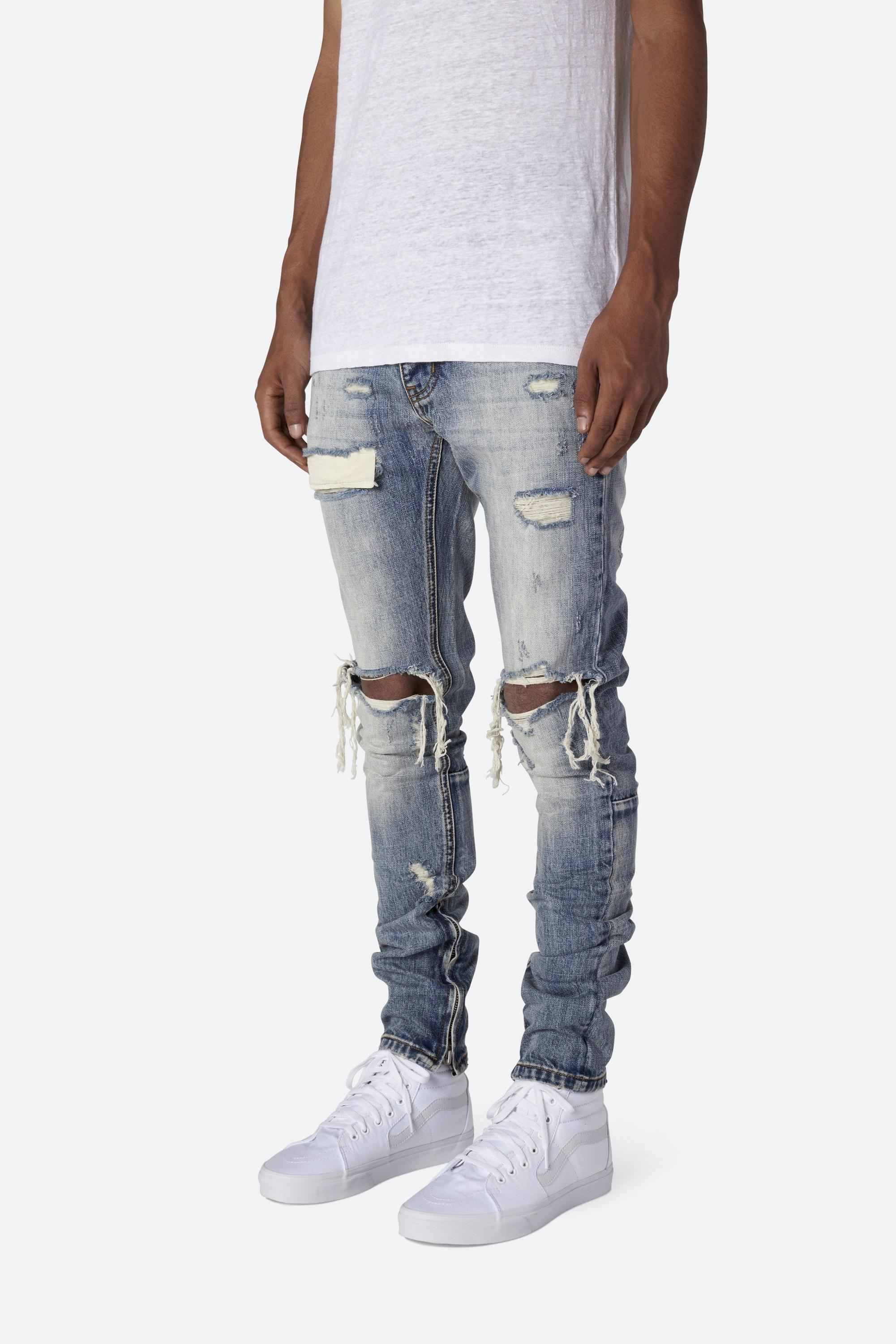 OEMnewmodel manufacturers china wholesale all branded name scratch pants price vintage ripped damaged distressed jeans denim 271