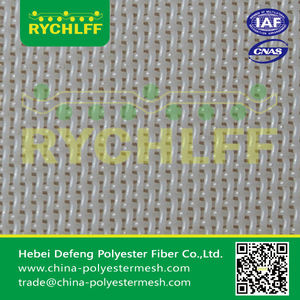 polyester plain mesh belt for non-woven cloth/nonwoven fabric