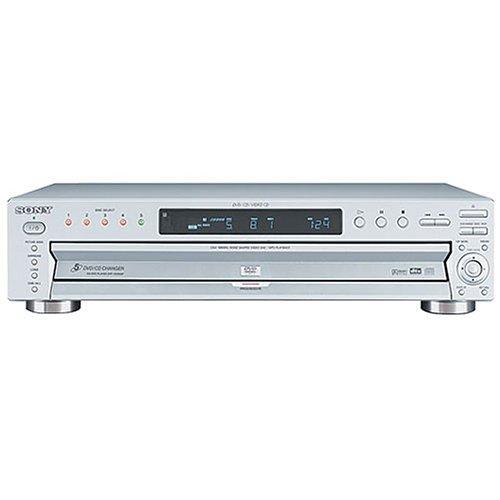 Sony DVP-NC655P/S Progressive-Scan 5-Disc DVD Changer (Silver)