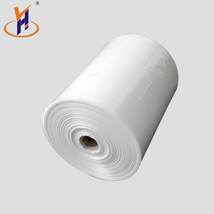 Free sample 450mm ,75microns ldpe film rolls for builder constructions roll with low price tubular/single wound type