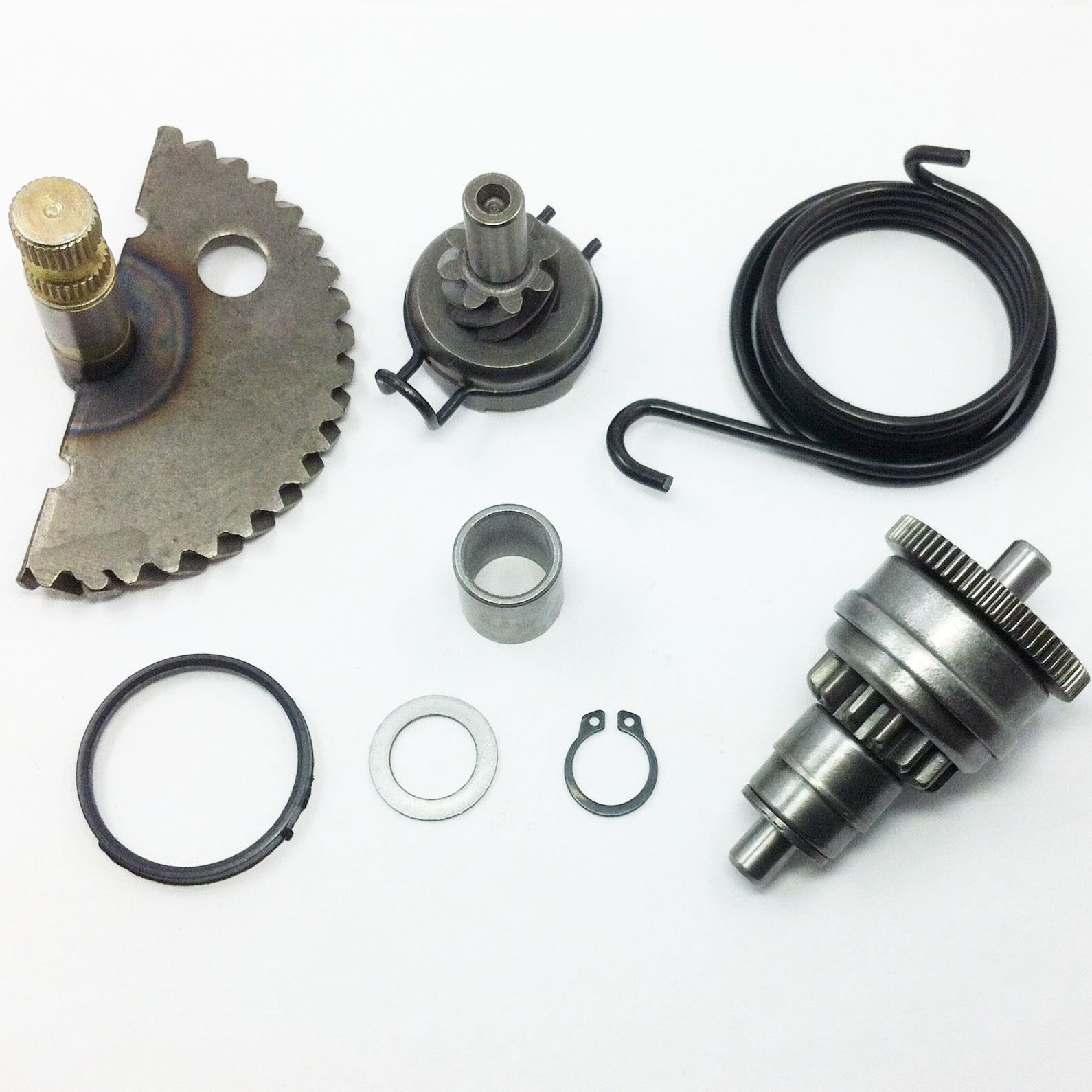 FLYPIG For GY6 49CC 50CC SCOOTER 139QMB P139QMB KICK START LEVER SHAFT GEAR IDLE GEAR
