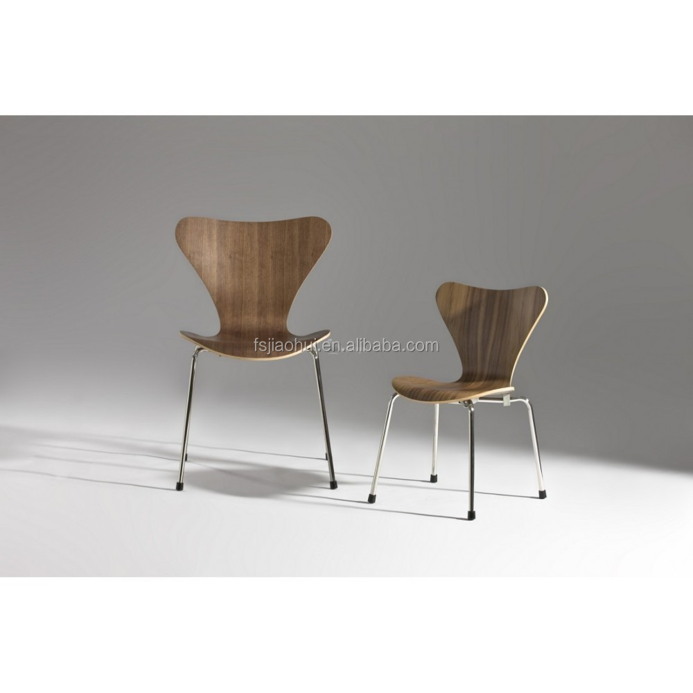 Famous danish design dining chair arne jacobsen series 7 for Famous scandinavian furniture designers