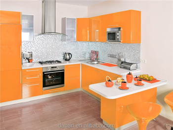 Modular Laminate Mdf Kitchen Cabinet Color Combinations