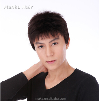 Wholesale Men Lace Wig Male Human Hair Wigs Japan And South Korea