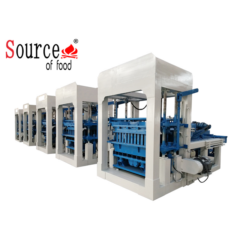 Hydraulic complete issb brick press making production line business plan