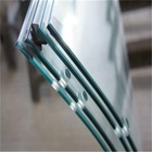 Clear Glass Curved Laminated Hot Sale Curved 17.52mm 12mm Thick Tempered Laminated Glass Price