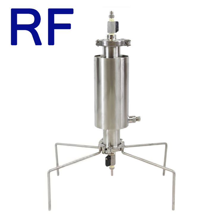 Rf Sanitary Closed Column Pressure Extractor W/ Dewaxing Sleeve - Buy  Closed Column Pressure Extractor,Passive / Active Closed Loop Systems,Bho  Oil