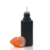 Wide mouth 1oz 2oz 3oz 10ml 20ml 30ml squeeze pe plastic dropper bottle with childproof cap