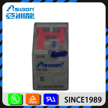 Asiaon 8 pins industrial universal types of electrical relays
