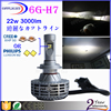 Upgrade version h7 led cr ee , h7 phi lips bulbs, h7 car led headlight 12 volts