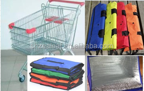 Trolley shopping Bags Set of 4 Bags