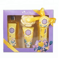 Lovely organic skin care products OEM/ODM gifting bath set