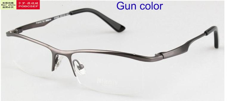 963eba97c341 nikon titanium eyeglass frame model nt6009. mens titanium eyeglasses ...