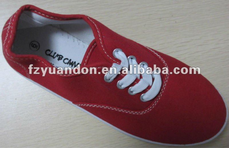 2013 barato plana hombres canvas shoes