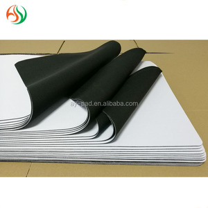 AY Blank Manufacturer Sublimation Custom gaming Rubber Mouse pad wholesale